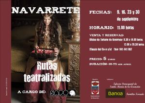 Rutas nocturnas teatralizadas en Navarrete