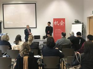 Eduardo Rodríguez Osés ha inaugurado en Riojaforum las jornadas Oportunidades del turismo chino para La Rioja