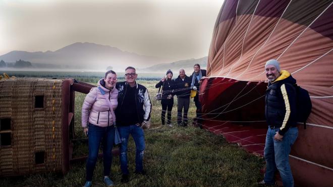 Cuatro periodistas alemanes especializados en turismo LGTB visitan La Rioja para conocer sus principales recursos turísticos