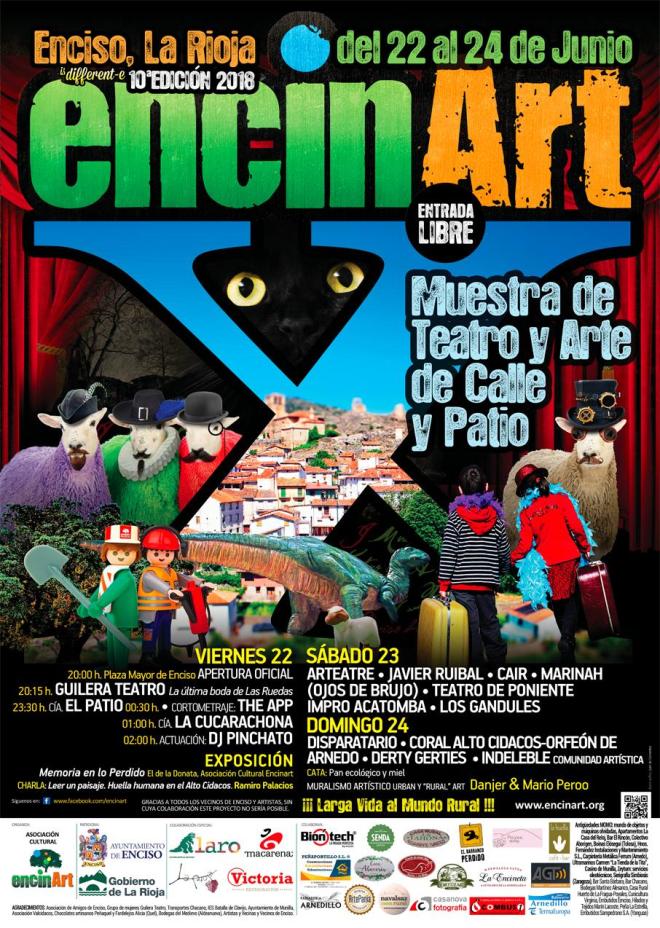 X Encinart: Muestra de Teatro y Arte de Calle y Patio