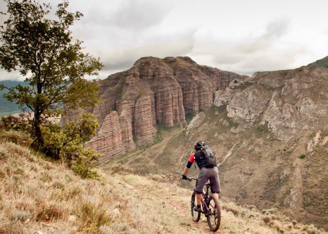 Un viaje en bicicleta de montaña, trashumancia por La Rioja