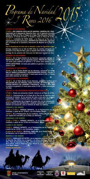 Programación de Navidad en Haro