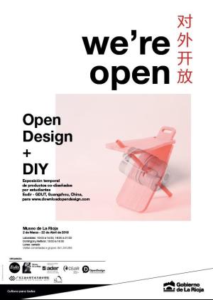 Exposición: Open Desing + DIY