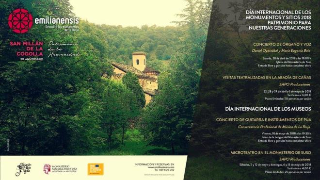 Programa de actividades de Emilianensis