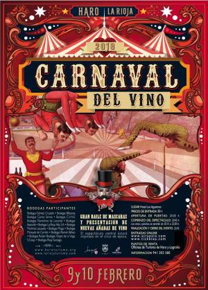 La nueva edición del Carnaval del Vino de Haro que se celebrará este fin de semana se centrará en el circo de época