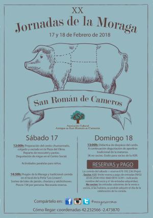 XX Exaltación de la Moraga en San Román de Cameros