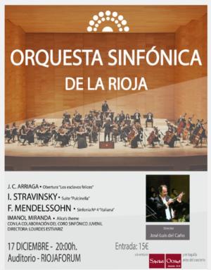 CONCIERTO ORQUESTA SINFÓNICA DE LA RIOJA