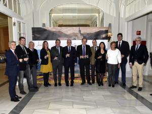 """Ceniceros destaca que el Gobierno de La Rioja está realizando un """"importante esfuerzo por innovar"""" en materia turística en colaboración con el sector"""