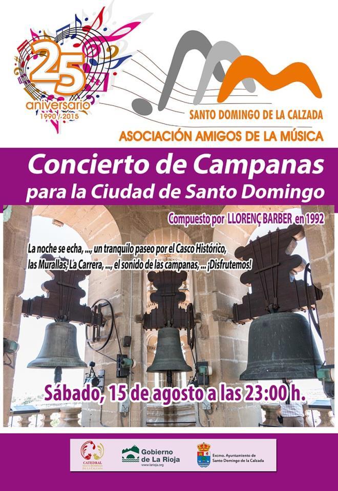 Concierto de Campanas en Santo Domingo de la Calzada