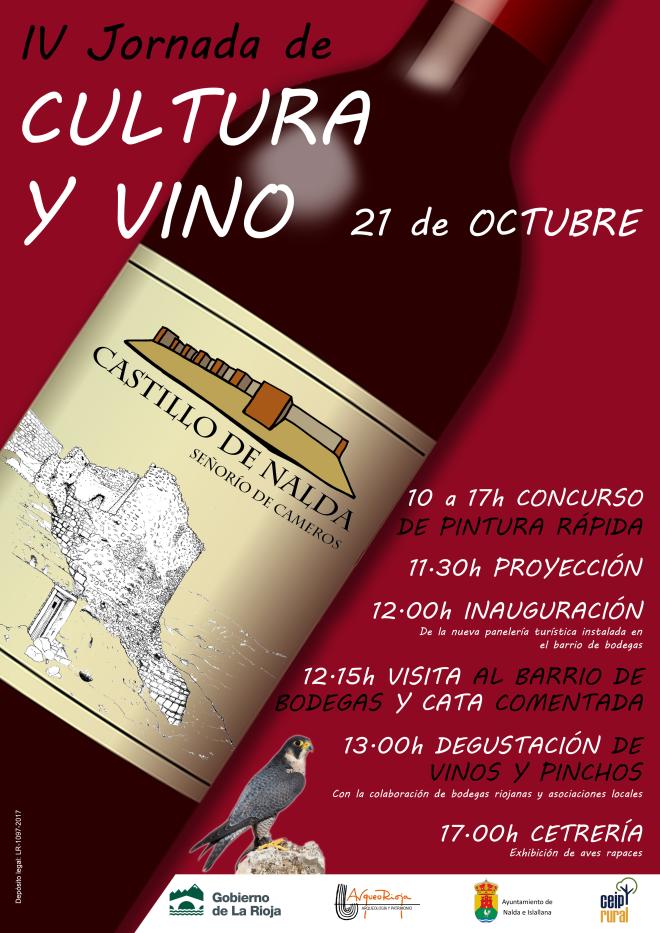 IV Jornada Cultura y Vino en el Castillo de Nalda