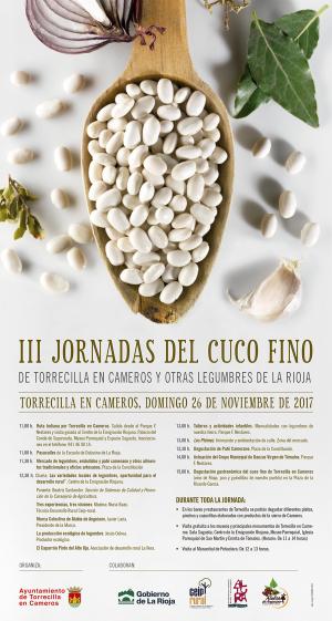 III Jornada del Cuco Fino de Torrecilla y otras legumbres de La Rioja