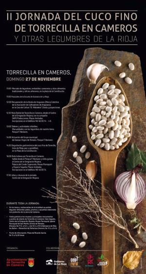 II Jornada del cuco fino de Torrecilla y otras legumbres de La Rioja