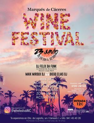Marqués de Cáceres Wine Festival