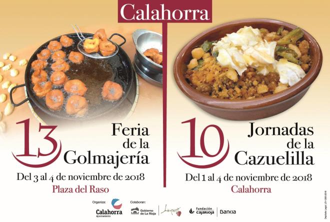 XIII Feria de la Golmajería y X Jornadas de la Cazuelilla