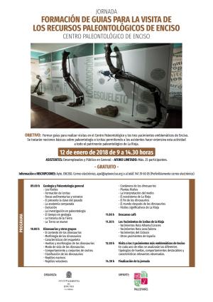 Jornada: Formación de guías para la visita de los recursos paleontológicos de Enciso