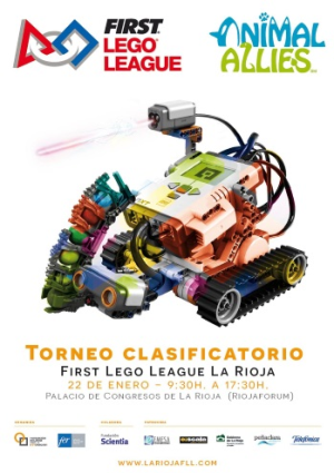 SEGUNDO TORNEO CLASIFICATORIO DE ROBÓTICA FIRST LEGO LEAGUE LA RIOJA