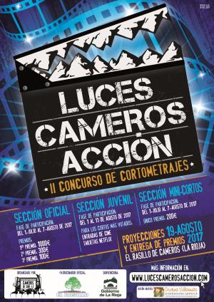 """Concurso de Cortometrajes """"Luces, Cameros, Acción"""""""