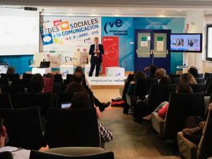 Rodríguez Osés ha analizado la utilidad de las redes sociales para posicionar el destino La Rioja