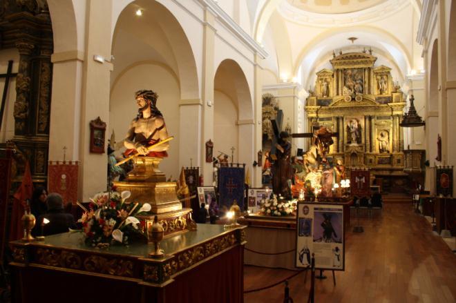 Exposición permanente de los Pasos de Semana Santa. Iglesia de San Francisco.