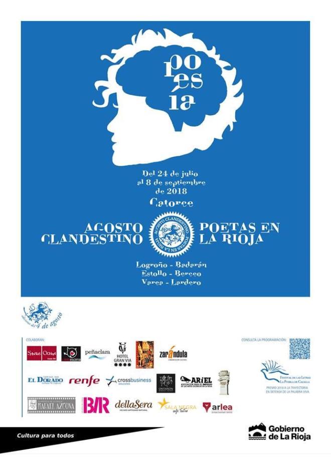 Agosto Clandestino. Poetas en La Rioja
